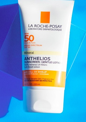 Sample of La Roche-Posay Anthelios Sunscreen