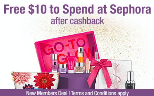 Sephora Cash Back Deal