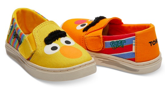 Sesame Street Toms Shoes