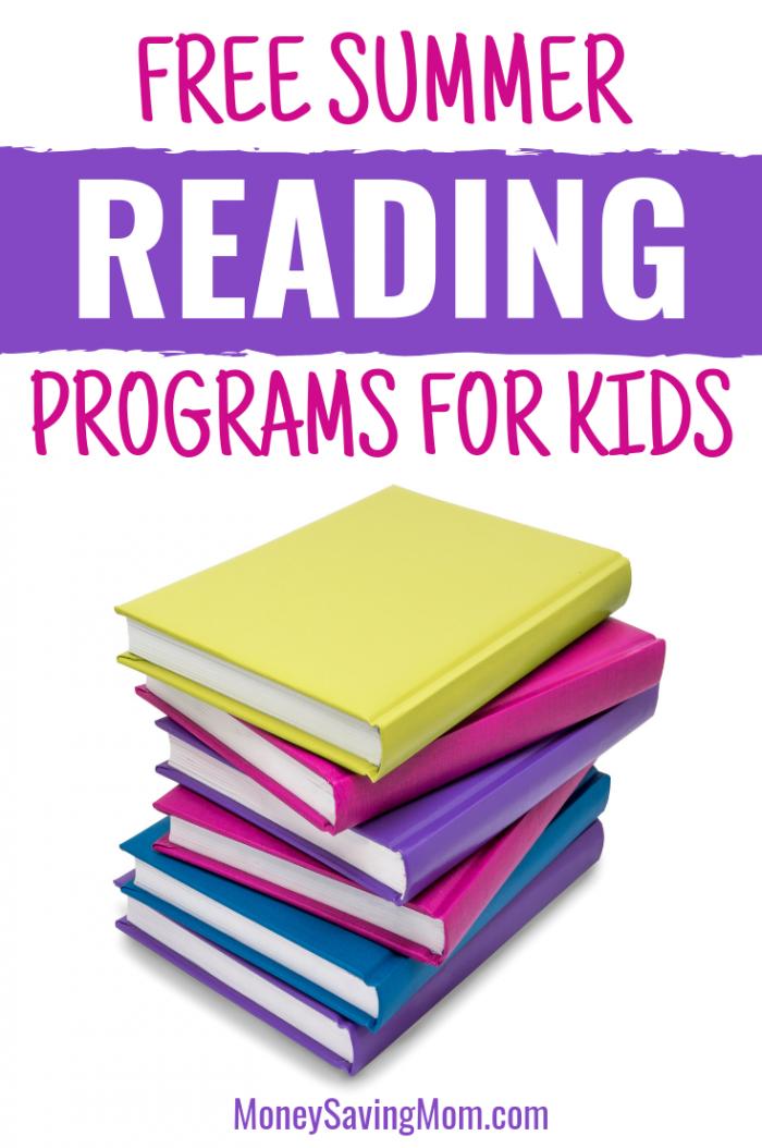 Free Summer Reading Programs 2019 - Money Saving Mom® : Money Saving