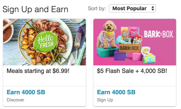 Swagbucks Offers