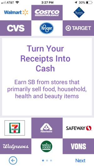 Swagbucks Shopping Receipts