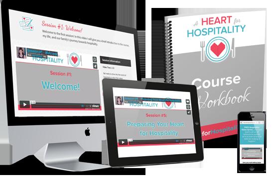 A Heart for Hospitality by Jami Balmet