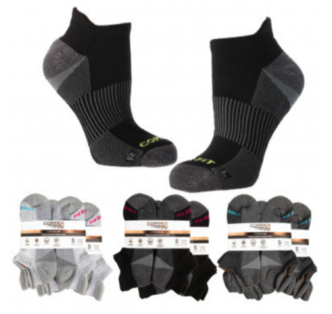 Women's Sport Ankle Socks with Pull Tabs