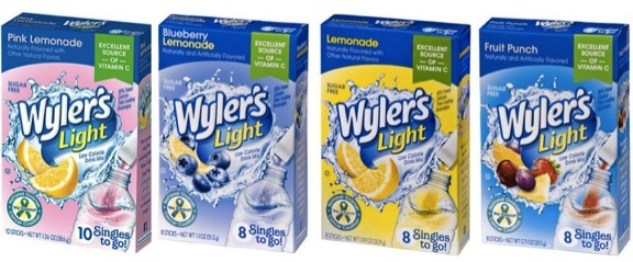 Wyler's Light Drink Mix Singles