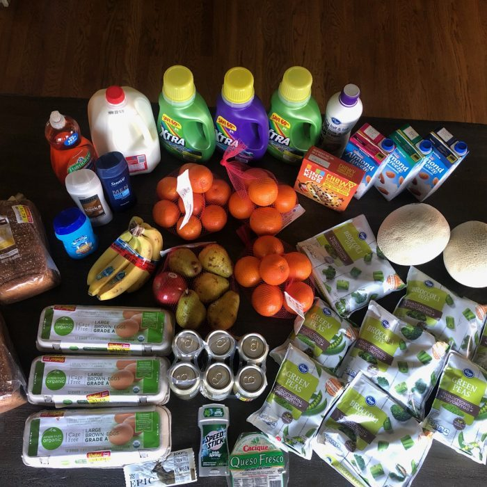 big grocery haul