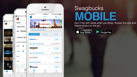 earn more with the swagbucks mobile apps