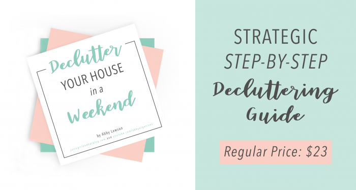 Declutter Your House in a Weekend