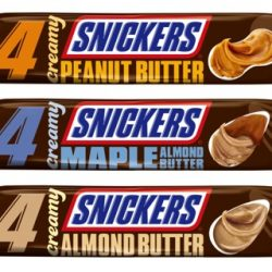 Creamy Snickers Bars
