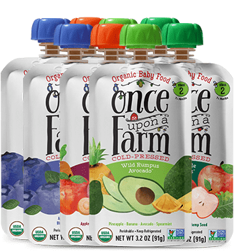 Once Upon a Farm Organic Pouches
