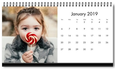 Photo Desk Calendar Just $4 w/ Free Walgreens In-Store Pickup