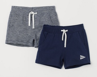Baby and Toddler Girls' Jersey Shorts 2-Pack