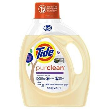 Tide PureClean Laundry Detergent (37 oz)