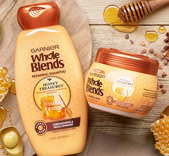 Whole Blends Honey Treasures Shampoo and Hair Mask