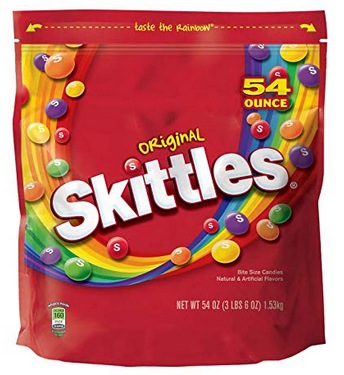 Skittles Original Candy 54 Oz Bag Only 655 Shipped