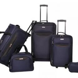 Tag Springfield 5-Piece Luggage Set only $55.99 (Reg. $240!)