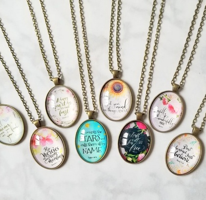 Faith and Love Necklaces