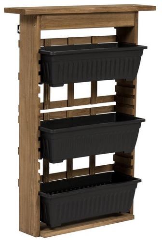 3-Tier Vertical Wall Mount Planter