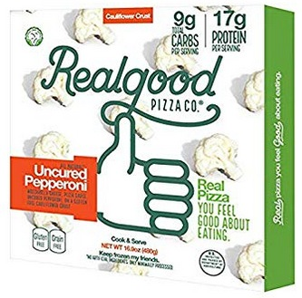 Real Good Foods Low Carb or Cauliflower Pizza