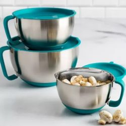 Goodful Stainless Steel Bowls Set