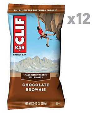 CLIF Chocolate Brownie Energy Bars 12-Pack