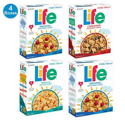 Quaker Life Breakfast Cereal Variety Pack