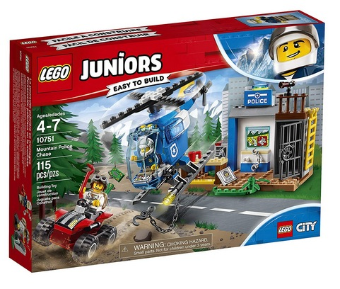 LEGO Juniors Mountain Police Chase Building Kit