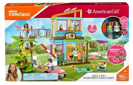 Mega Construx American Girl Lea's 2-In-1 Rainforest Sanctuary Construction Set