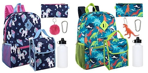6-in-1 Backpack Sets Only $13.74