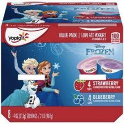 Yoplait Disney Frozen Yogurt 8-Pack