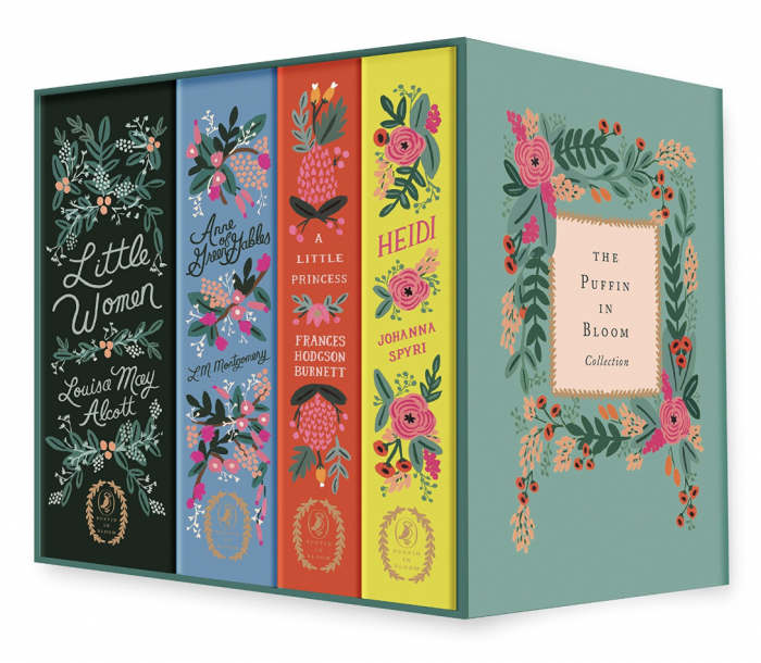 The Puffin in Bloom Hardcover Books Set