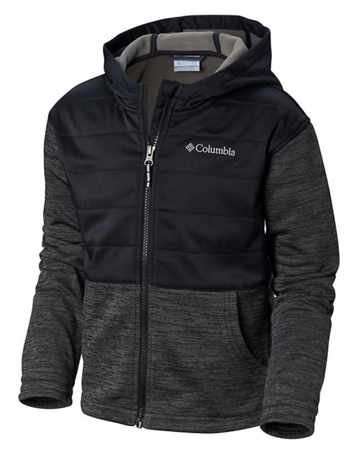 girls hayden summit hybrid hoodie