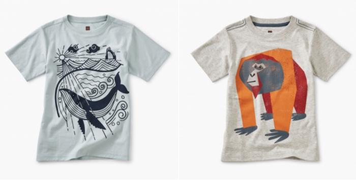 Tea Collection Boys Graphic Tees