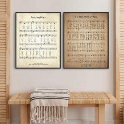 Large Hymn Prints