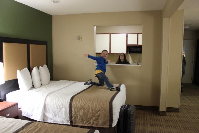 family fun at a hotel