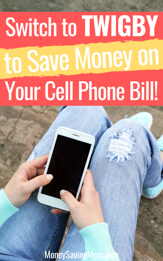 Save money on your cell phone bill with Twigby