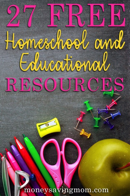 Free Homeschool and Educational Resources
