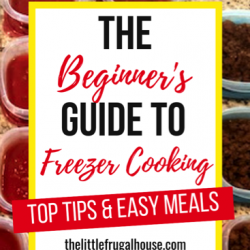 Free Printable Beginner's Guide to Freezer Cooking