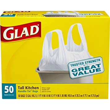 graphic relating to Glad Trash Bags Printable Coupon identified as Higher Well worth $2.50/1 Satisfied Major Trash Luggage Printable Coupon