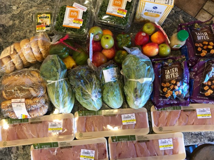 budget grocery shopping for large groups