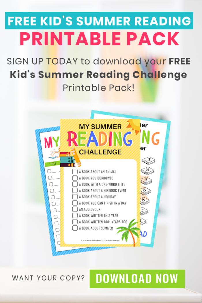 Kids Summer Printable Pack