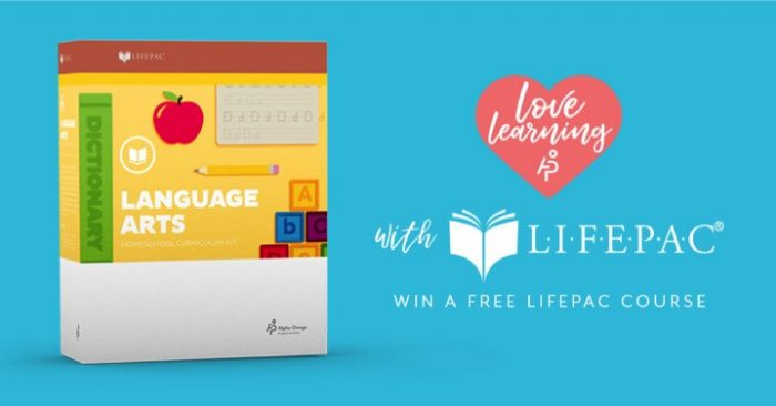 LIFEPAC Giveaway
