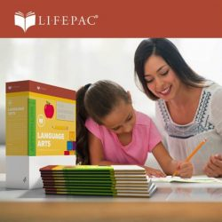 mother and daughter using LIFEPAC curriculum