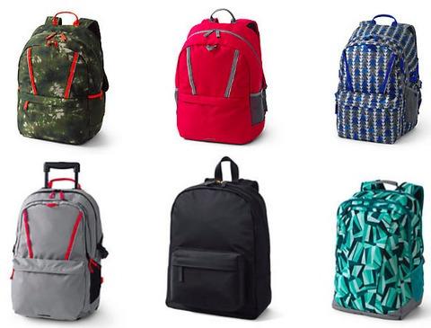 Lands' End Backpacks