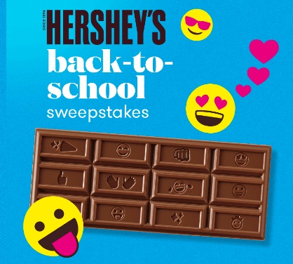Hershey's Back to School Sweepstakes (4,500 Winners!) - Money Saving
