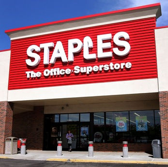 Staples School Supply Purchase