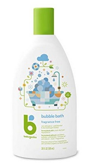 Babyganics Baby Bubble Bath, Fragrance Free