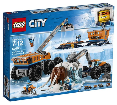 LEGO City Arctic Mobile Exploration Base 60195 Building Kit
