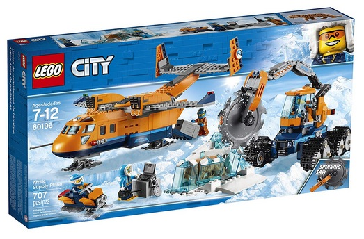 LEGO City Arctic Supply Plane 60196 Building Kit