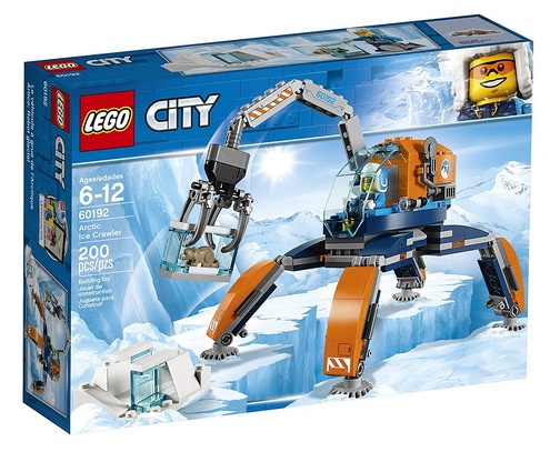 LEGO City Arctic Ice Crawler 60192 Building Kit